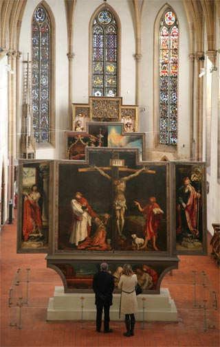 isenheimer altar matthias gr252newald